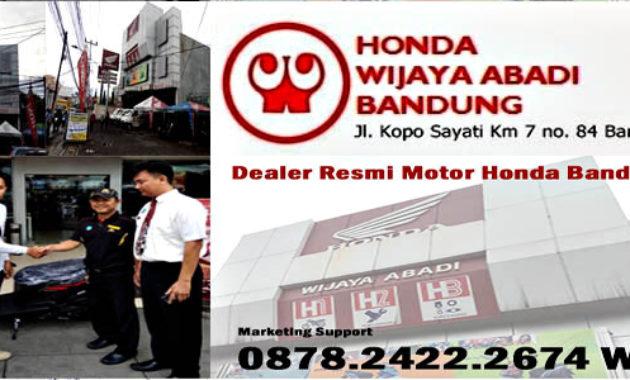 Persyaratan Kredit Motor Baru Honda Dealer Bandung 2020