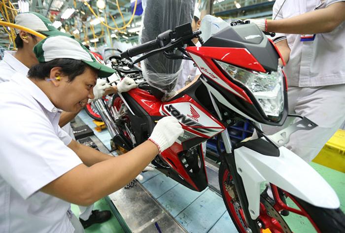 Motor New Honda Sonic 150R Tampak Kecang dan Makin Agresif