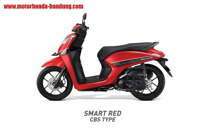 Honda Genio Merah Bandung