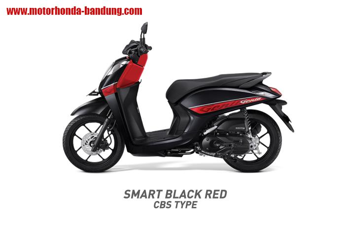 Honda Genio Merah Hitam Bandung