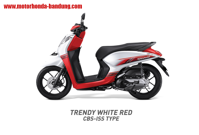 Honda Genio Merah Putih Bandung
