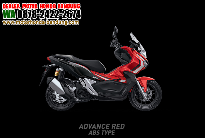 ADV 150 Bandung Warna Merah CBS