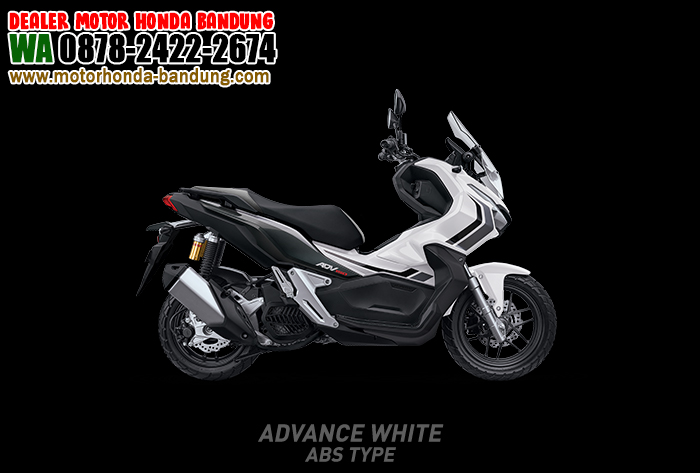 ADV 150 Bandung Warna Putih Hitam