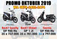 Promo Oktober Motor Honda Bandung