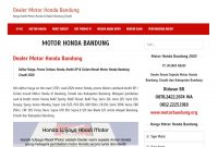 Partner Motor Honda Bandung