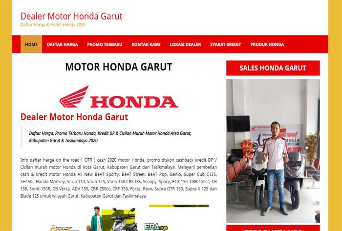 Dealer Motor Honda Garut – Harga & Kredit Honda Garut