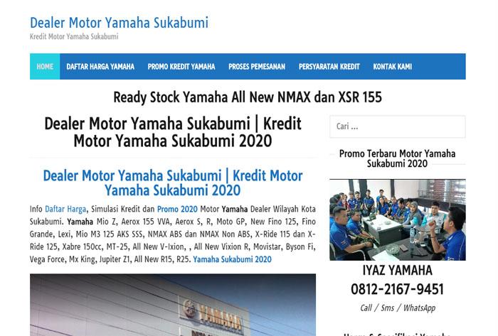 Dealer Motor Yamaha Sukabumi – Kredit Yamaha Sukabumi