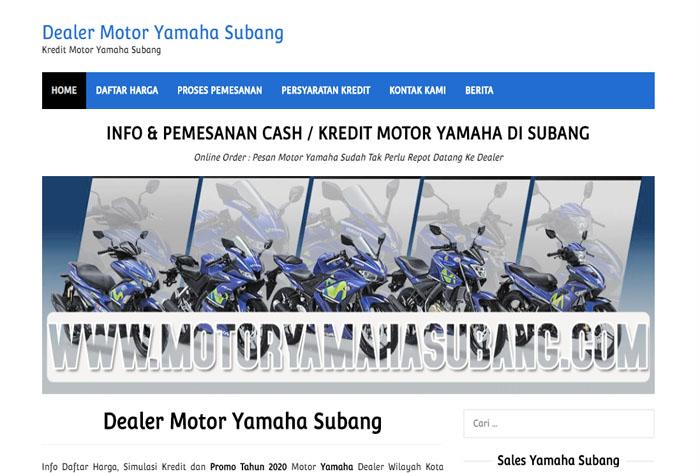 motor yamaha subang