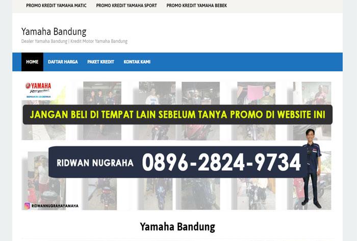 Dealer Yamaha Bandung – Kredit Motor Yamaha Bandung