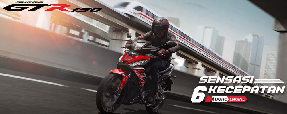 Harga Motor Supra GTR 150 Dealer Bandung