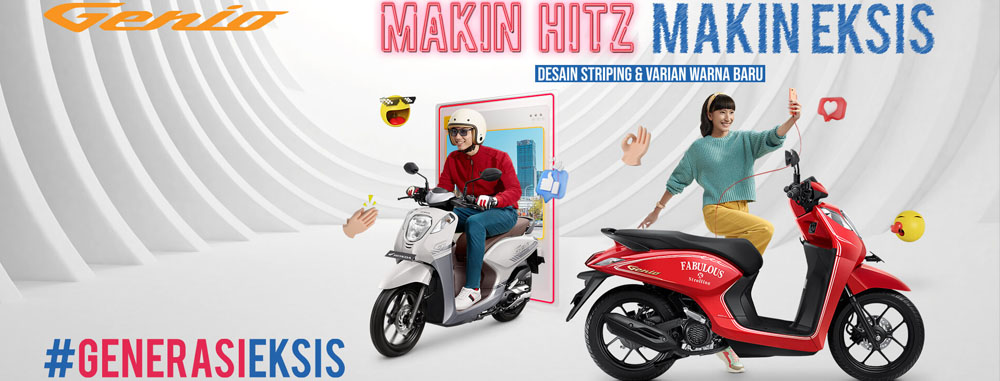Harga Terbaru Motor Genio di Kota Bandung