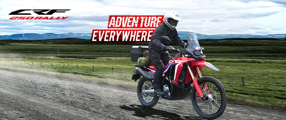 Motor Honda CRF Bandung